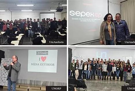 SEPEX-SP Realiza Palestras em Faculdades